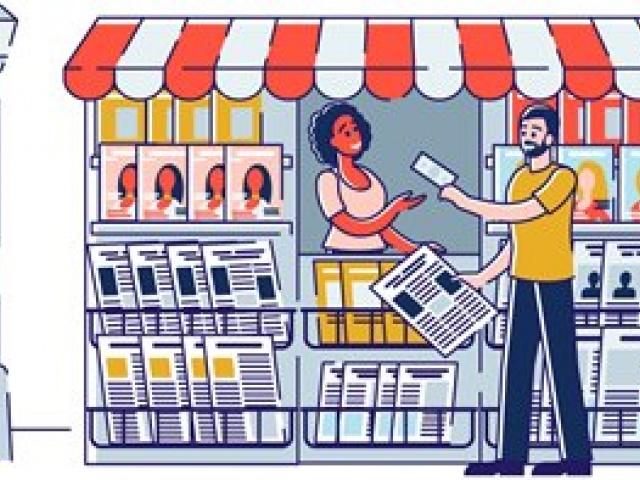 Как стимулировать розничные продажи газеты при помощи дизайна