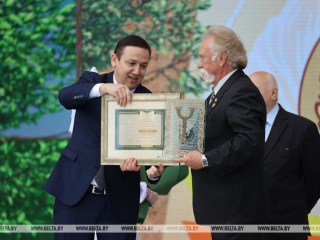 Национальную литературную премию вручили в Копыле